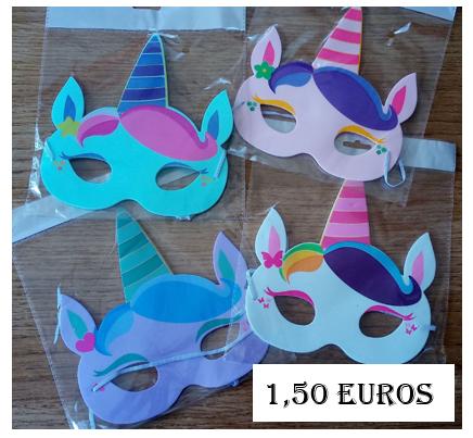Capture licorne masque